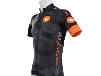 "Maillot de ciclismo indoor con mangas ""Hexagon"""
